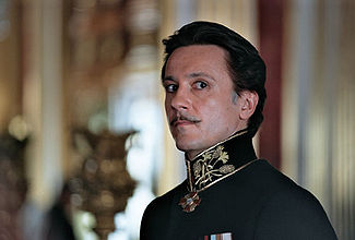 Fandorin as portrayed by Oleg Menshikov in the 2005 Russian film, The State Counsellor