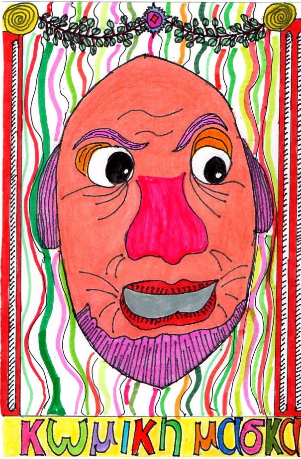 Comic Mask145