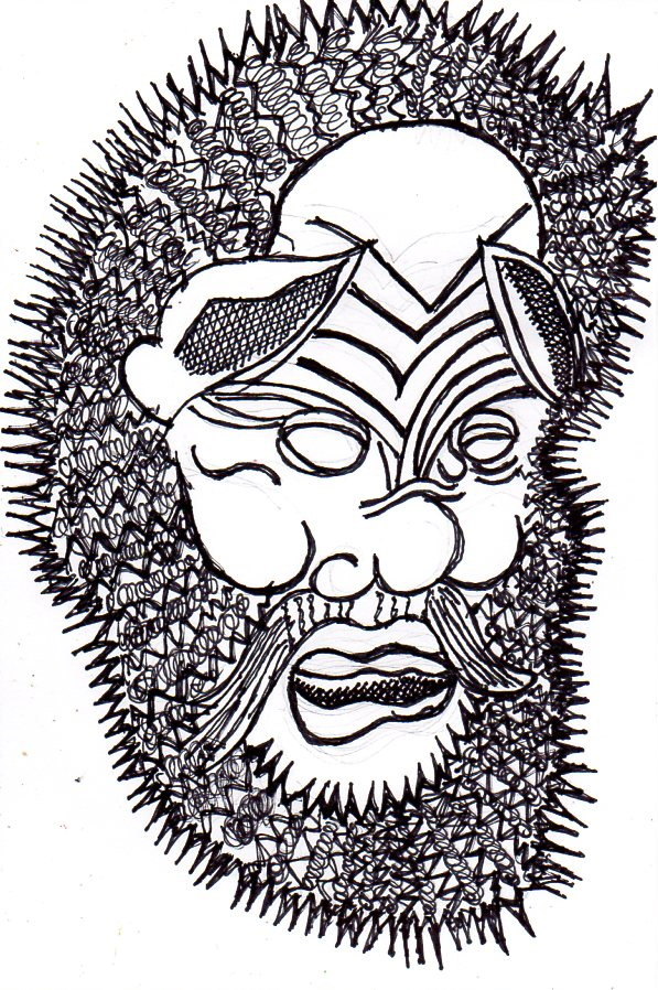 Satyr Head182